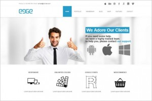 EDGE is a Multi-Purpose WordPress Theme
