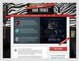 Foxhound Band WordPress Themes