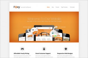 Foxy - A Business WordPress Theme from Elegant Themes