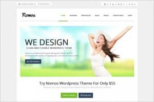 Nomos is a Multi-Purpose WordPress Theme