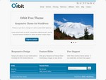 Orbit is a free WordPress Theme