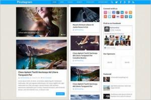 Pinstagram is a Pinterest Inspired WordPress Theme