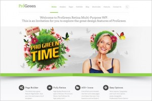 ProGreen is a Multi-Purpose WordPress Theme