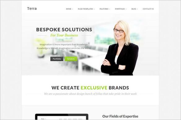 Terra is a Multi-Purpose WordPress Theme