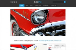 CarPix WordPress Theme from Themes4all