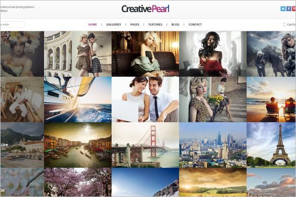 Outstanding WordPress Theme - CreativePearl