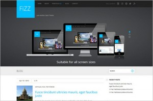 Fizz is a free WordPress Theme from Site5