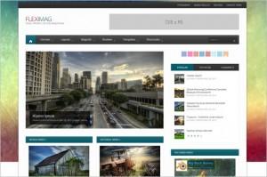 FlexiMag is a modern magazine WordPress Theme
