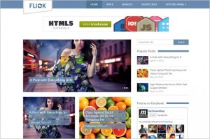 Flick is a Media Oriented WordPress Theme by MyThemeShop