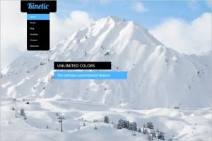 Outstanding WordPress Themes - Kinetic