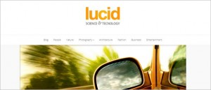 Lucid is a cool WordPress Theme from Elegant Themes