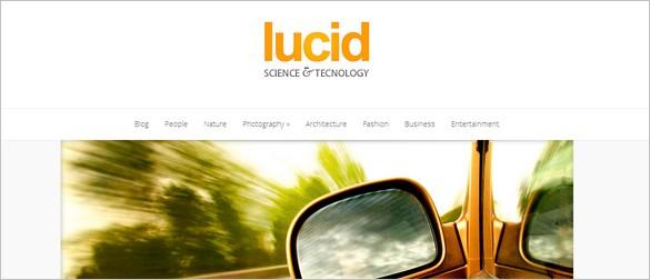 Usable WordPress Themes - Lucid