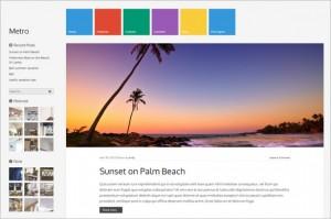 Outstanding WordPress Themes - Metro