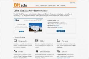 Orbit is a free WordPress Theme