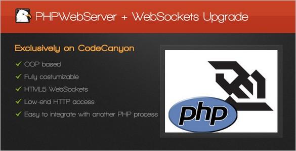 Freebies - PHPWebServer with WebSockets Upgrade