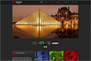 PixNight is a WordPress Theme from Themes4all