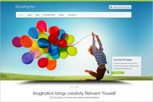 Outstanding WordPress Themes - RoadFighter