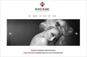 Wireframe Outstanding WordPress Theme