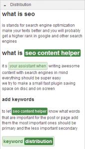 SEO Content Helper Distribution