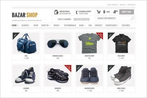 Best Selling WordPress Themes - Bazar Shop