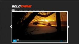 WordPress Video Themes - Bold Theme