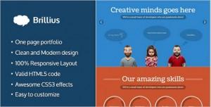 Brillius WordPress Theme