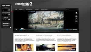 WordPress Video Themes - Complexity