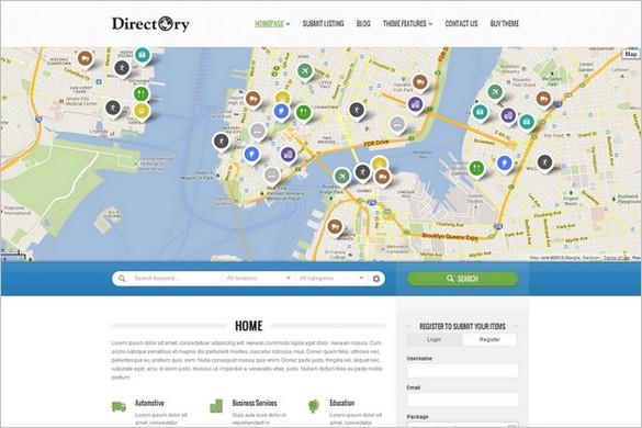 Best Selling WordPress Themes - Directory Portal