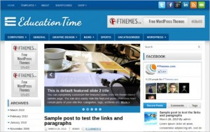 Educational Website - Education Theme