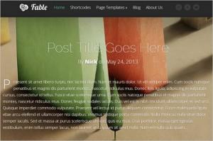 Fable WordPress Theme by Elegant Themes