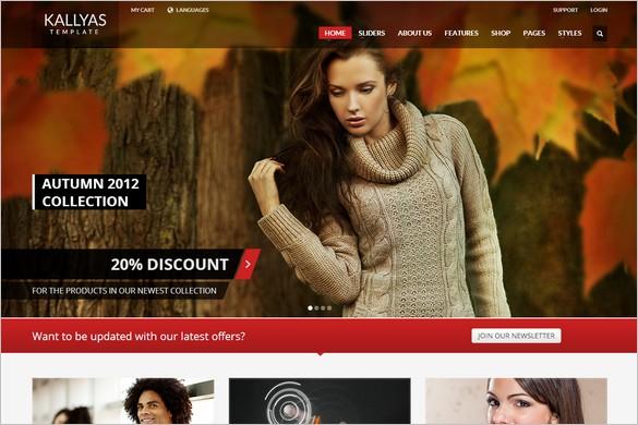 Top WordPress Themes - KALLYAS
