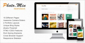 Freebies - Photomin HTML Template
