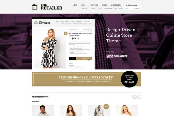 Best Selling WordPress Themes - The Retailer