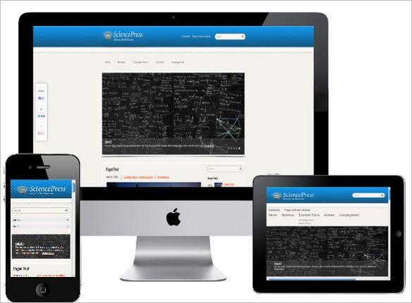 Educational Website - Science Press