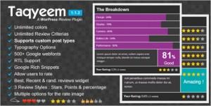 WordPress Plugins - Taqyeem