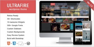 Ultrafire WordPress Theme