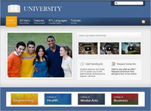 Educational Website - Universitry