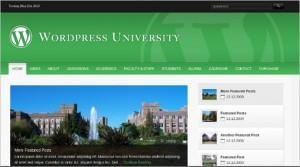 Educational Website - WordPress University