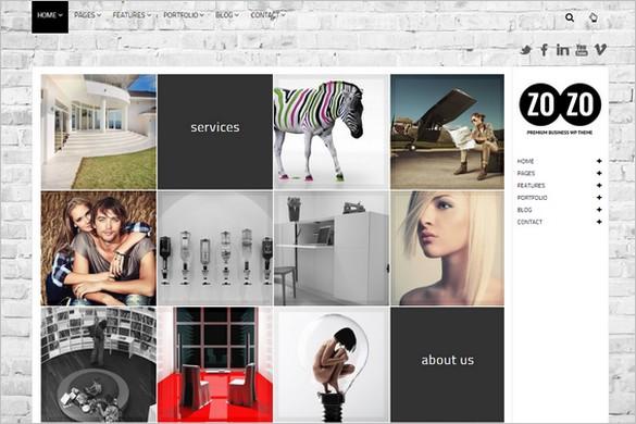 Top Selling WordPress Themes - ZOZO