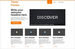 discover is a free WordPress Theme