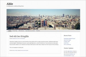 Best Free WordPress Themes - Able