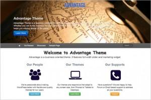 Exciting WordPress Themes - Advantage
