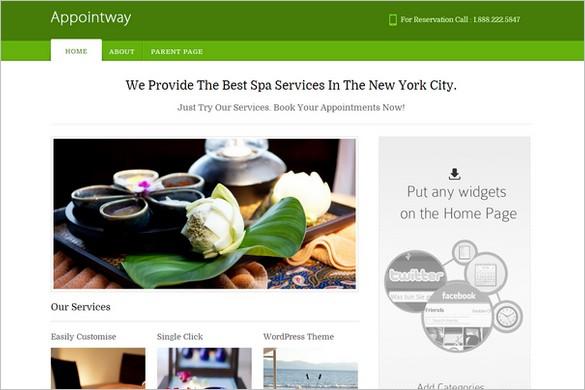 Best Free WordPress Themes - Appointway