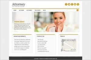 Exciting WordPress Themes - Attorney