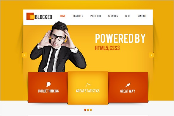 Funkiest WordPress Themes - Blocked WordPress Theme