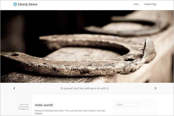 Best Free WordPress Themes - Clearly