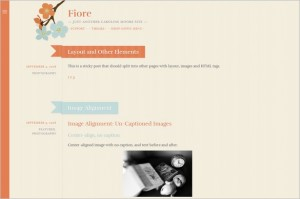 Free Exciting WordPress Themes - Fiore
