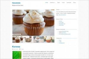 Free Exciting WordPress Themes - Hanamoto