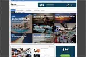 Neuton Magazine WordPress Theme from CSSIgniter