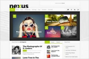 Nexus Impressive Magazine WordPress Theme